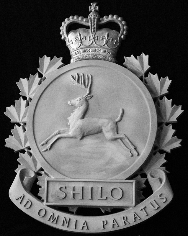 shilo crest for bronze casting
